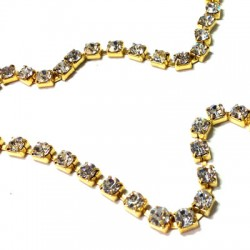 Chain with Strass 4.3mm