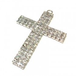 Cross with Strass 47x70mm