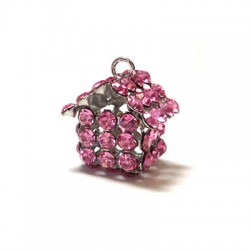 House with Strass 14x16mm