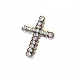 Cross with Strass 34x48mm