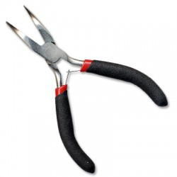 Curved Round Nose Pliers Galvanized