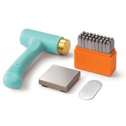 ImpressArt Metal Stamping Kit Basic Uppercase