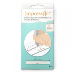 Mésure adhésive pour bracelets ImpressArt (36pcs/paquet)