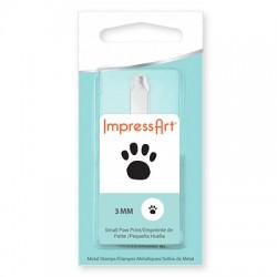 ImpressArt Paw Print 3mm Design Stamp