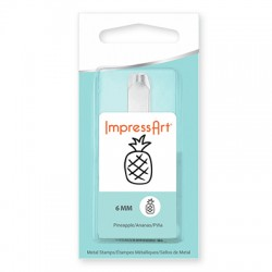 ImpressArt Pineapple 6mm Design Stamp