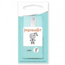 ImpressArt Jenny 6mm Design Stamp