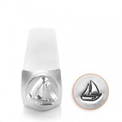 Μεταλλική Σφραγίδα Καράβι Impress Art 6mm