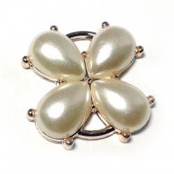 Acrylic Pearl Flower 38mm