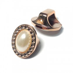 Acrylic Pearl Ring Oval 21x17mm
