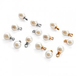 Pearl ABS Round w/ Cup 6mm