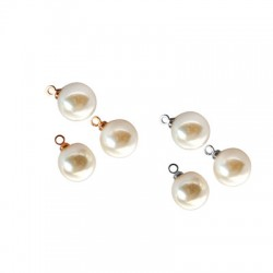 Pearl ABS Round w/ Cup 10mm