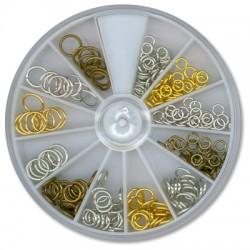 Kit Brass Ring 3mm x 32pcs