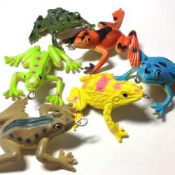 PVC Frogs ~ 40x50mm