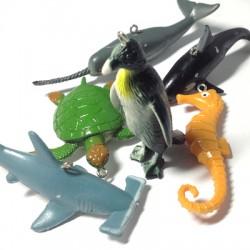 PVC Ocean Animals ~ 40x60mm