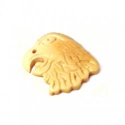 Charm in Osso Testa di Aquila 22mm