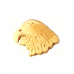Pendentif Aigle en Os 22mm