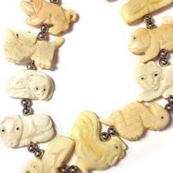 Bone Chinese Horoscope (12 pieces assorted)