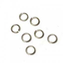 Anellino Aperto in Argento 925 6.8/4.8mm (Spessore 1mm)