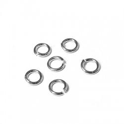 Silver 925 Ring 8.2-5.4mm/1.4mm