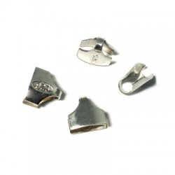 Terminale Capocorda in Argento 925 8mm