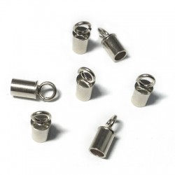 Silver 925 Clasp Tube 3.3mm