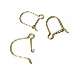 Silver 925 Earring Hook 16x12mm
