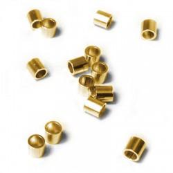 Ασήμι 925 Χάντρα Σωληνάκι 3mm (Ø2.5mm)