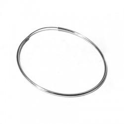 Ασήμι 925 Κρίκος  για Σκουλαρίκι Στρογγυλός 50mm