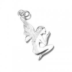 Silver 925 Fairy 14x33mm