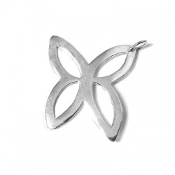 Silver 925 Butterfly 30mm