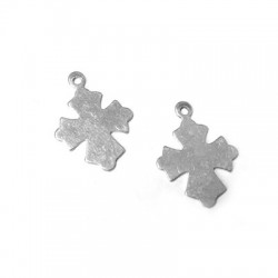 Charm in Argento 925 Croce 18x18mm