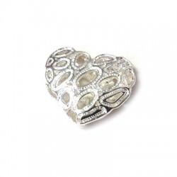 Ασήμι 925 Μοτίφ Καρδιά 20x18mm