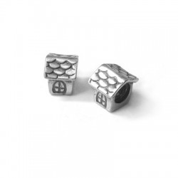 Silver 925 House 5x7mm