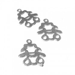 Charm in Argento 925 Bambina 16x15mm