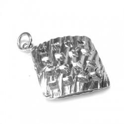 Silver 925 Rhombus 30x35mm