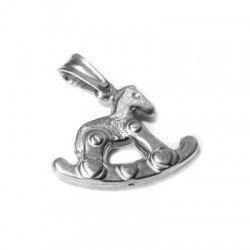 Silver 925 Horse 15x20mm