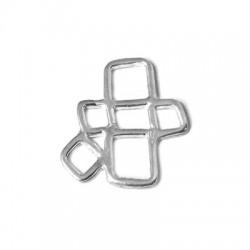 Silver 925 Aquares 21mm
