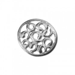 Silver 925 Round 30mm