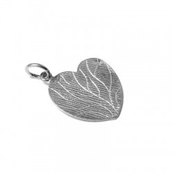 Charm in Argento 925 Cuore 18x13mm