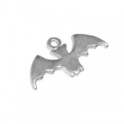 Silver 925 Charm Bat 15x8mm