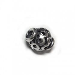 Ασήμι 925 Χάντρα 14x15mm (Ø2.5mm)