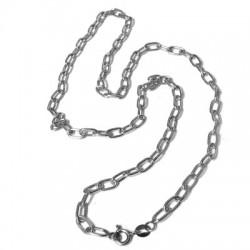 Catena in Argento 925 Bracciale Semifinito 19cm