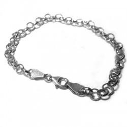 Silver 925 Semi-finished Bracelet 21cm