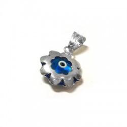 Silver 925 Eye Flower 14mm