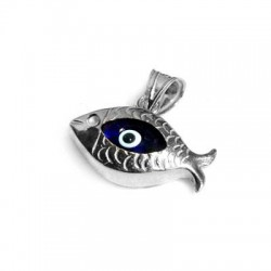 Silver 925 Eye Fish 10x20mm