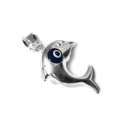 Silver 925 Eye Dolphin 17x21mm
