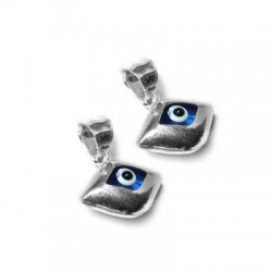 Charm in Argento 925 Occhio 11.5x12mm