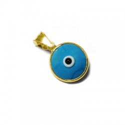 Silver 925 Eye round 12mm
