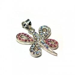 Silver 925 Swarovski Butterfly 22mm
