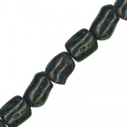 Coral Bamboo Bead Irregular ~17x18mm (~23pcs/string)